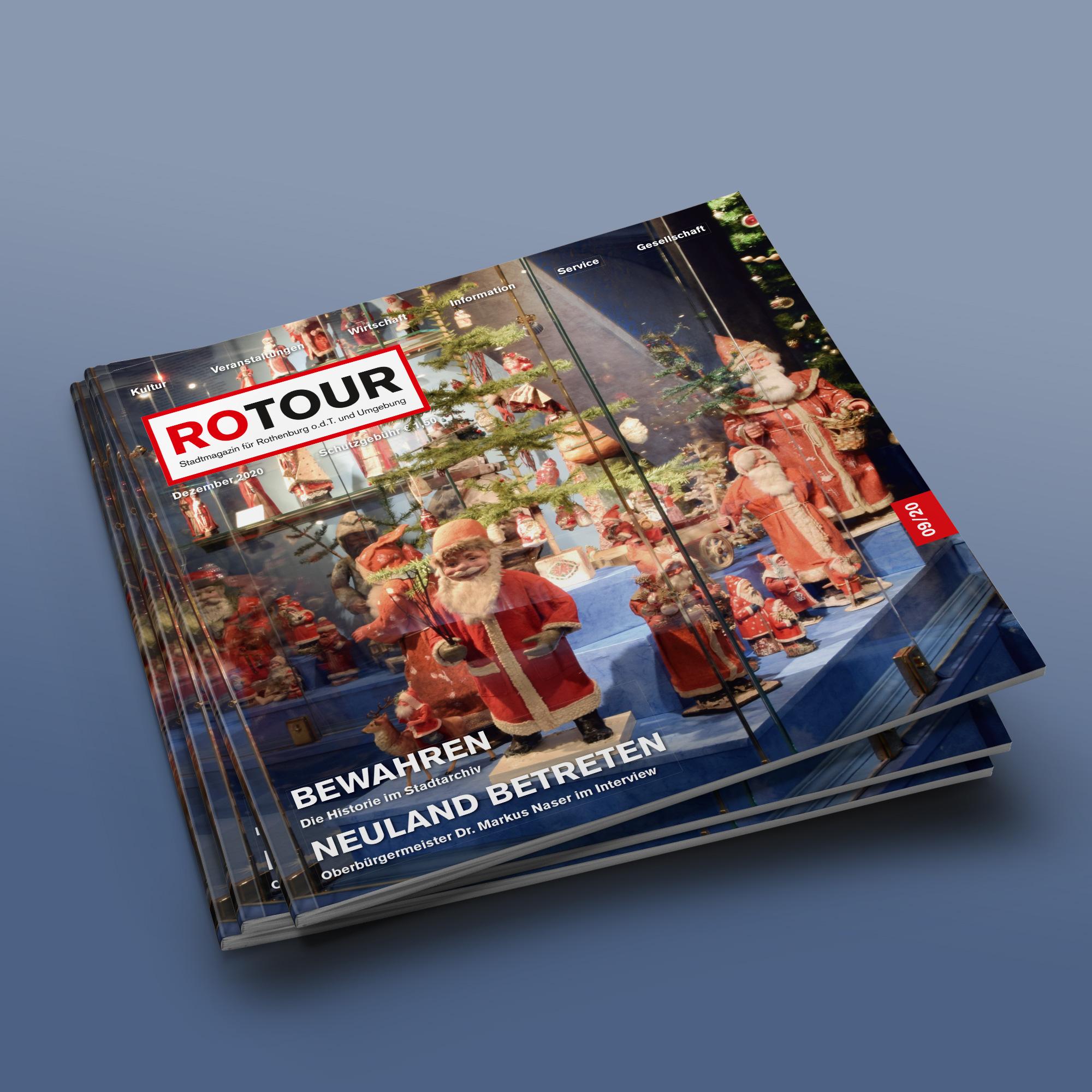 ROTOUR - das Stadtmagazin für Rothenburg ob der Tauber - Ausgabe 09/2020