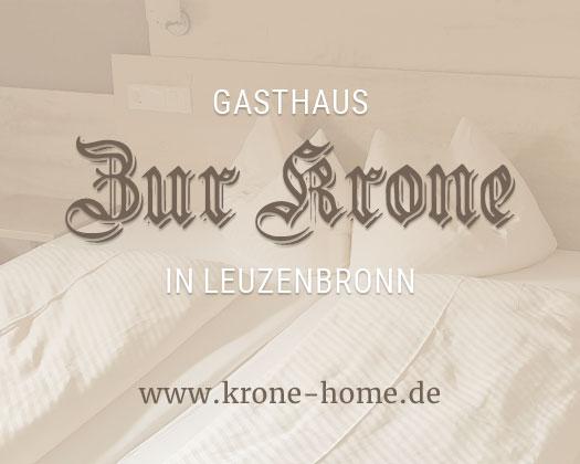 Relaunch Gasthaus Zur Krone in Leuzenbronn