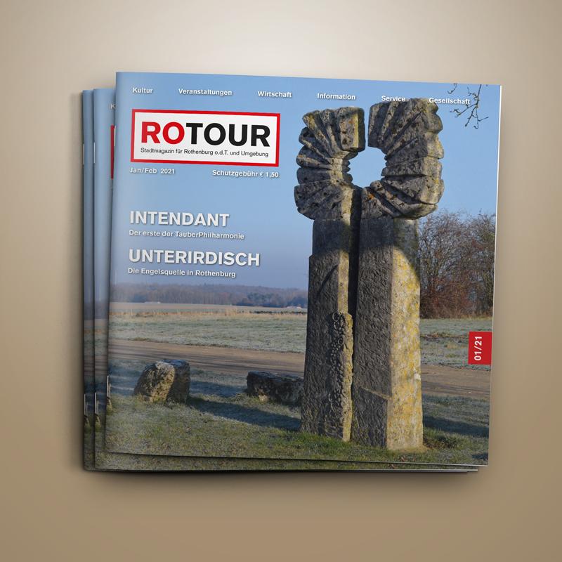 ROTOUR - das Stadtmagazin für Rothenburg ob der Tauber - Ausgabe 01/2021